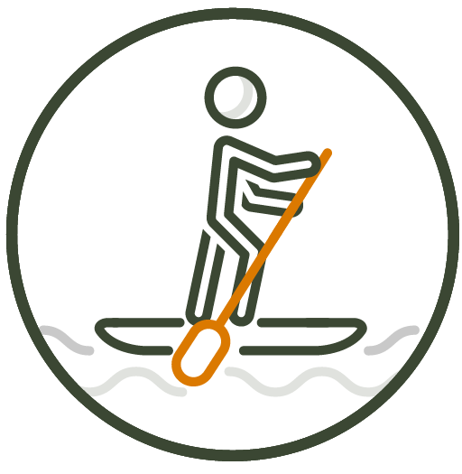 Paddleboarding with JULUKA Fitness