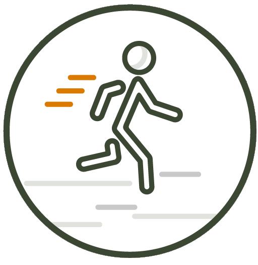 Trail walks and runs